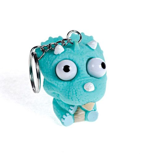 Popping Eye Dinosaur Keyring