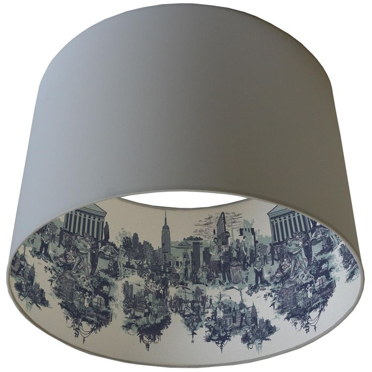 Timorous Beasties Lampshades - New York City Toile