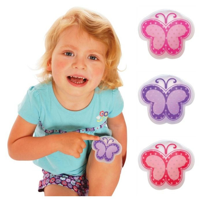 IS-Ice Packs for Kids-Cool It Cold Pack-Butterflies