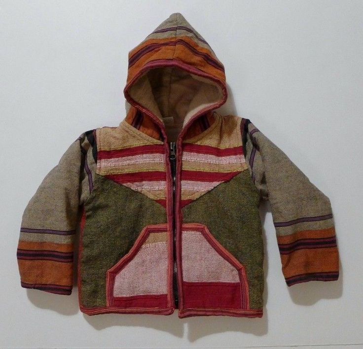 Some funky hippie style in a jacket from Nepal for your favorite  baby boy or girl!