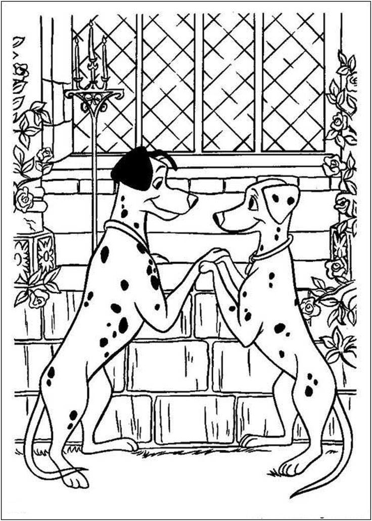 101 Dalmatians Coloring Page