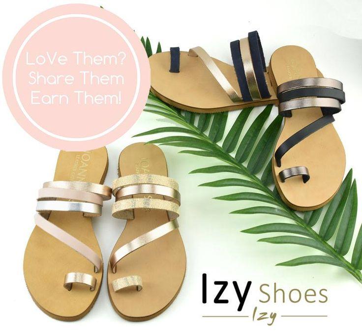 Διαγωνισμός IzyShoes με δώρο τις δερμάτινες σαγιονάρες της εικόνας στο χρώμα της επιλογής σου! http://getlink.saveandwin.gr/8X8