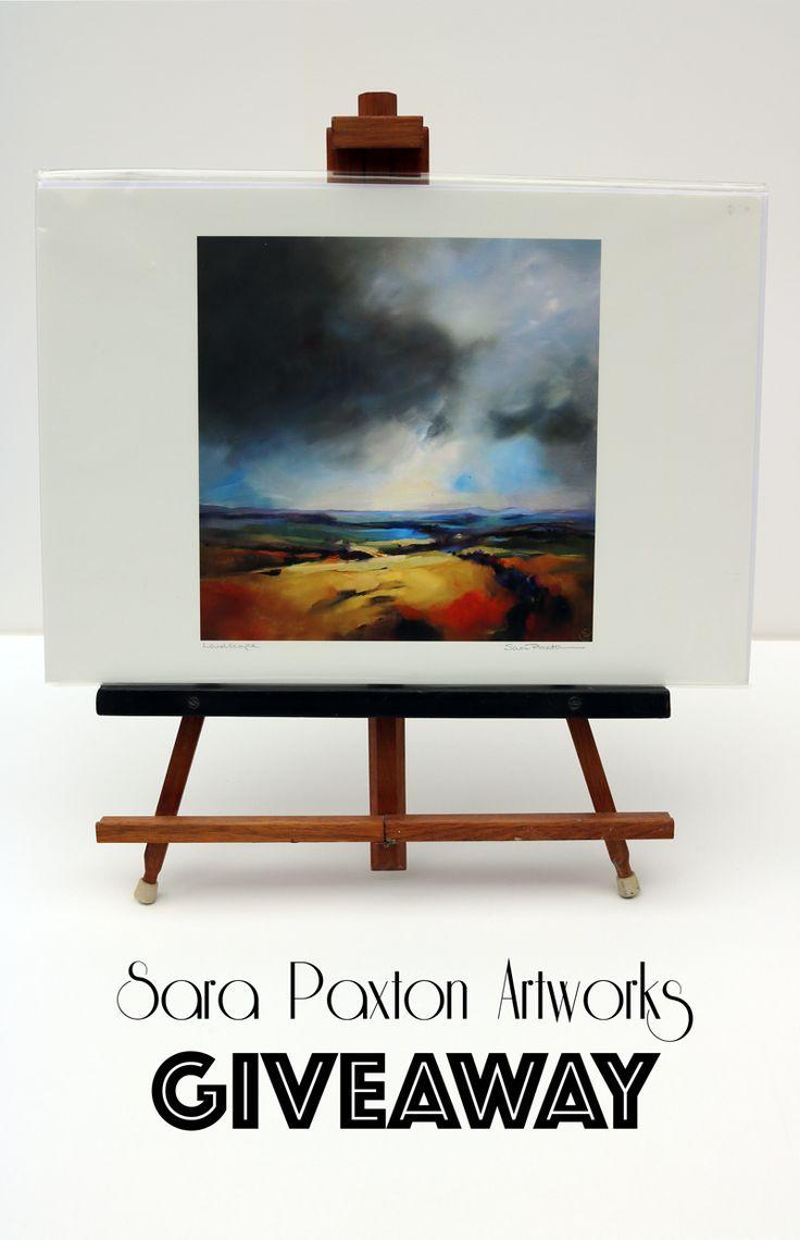 Enter to win Sara Paxton's limited edition giclee print! #SaraPaxtonArtworks