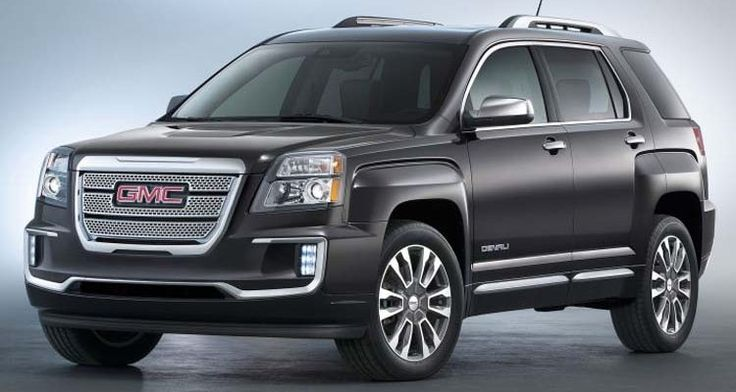 2016 GMC Terrain – Small SUV