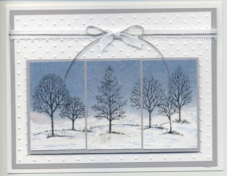 """By amyphelps at Splitcoaststampers. Uses Stampin' Up """"Lovely as a Tree"""" stamp…"""