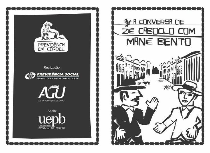 TIPOGRAFIA | Eldes Cordel - © Eldes.com - Utilização em projeto da Previdência Social #typography #woodcut #cordel #xilogravura