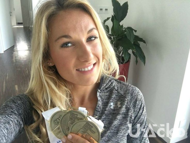 Bára Procházková, atletika, běh a Under Armour