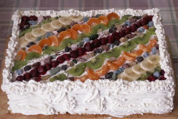 Бисквитный торт микадо армянский