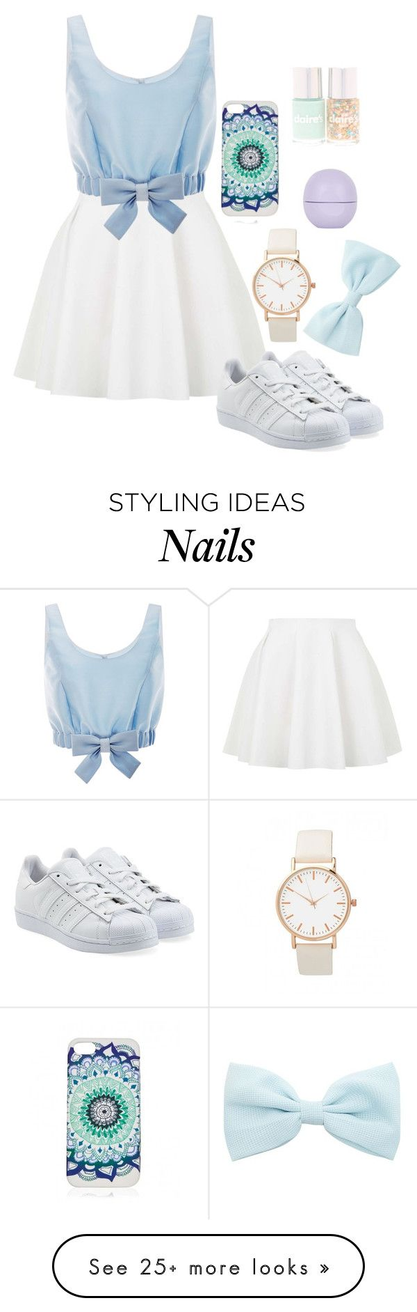 """""""In Rome"""" by cookies21 on Polyvore featuring Topshop, Honor and adidas Originals"""