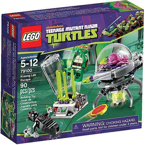 Walmart: LEGO Ninja Turtles Kraang Lab Escape Play Set