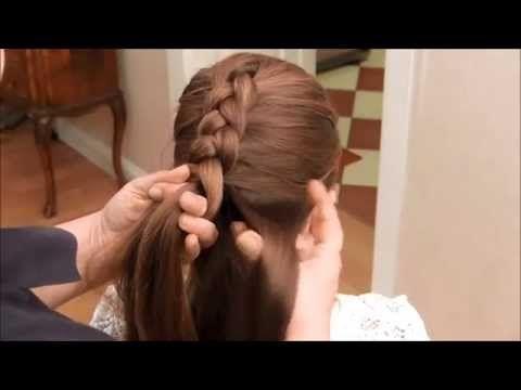 Frisur zopf durchziehen