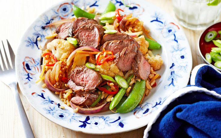 This warm salad is perfect for winter, combining cool weather favourites lamb and cauliflower. Featuring ginger and chilli, this recipe packs a punch
