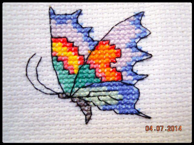 Punto de cruz / cross-stitch