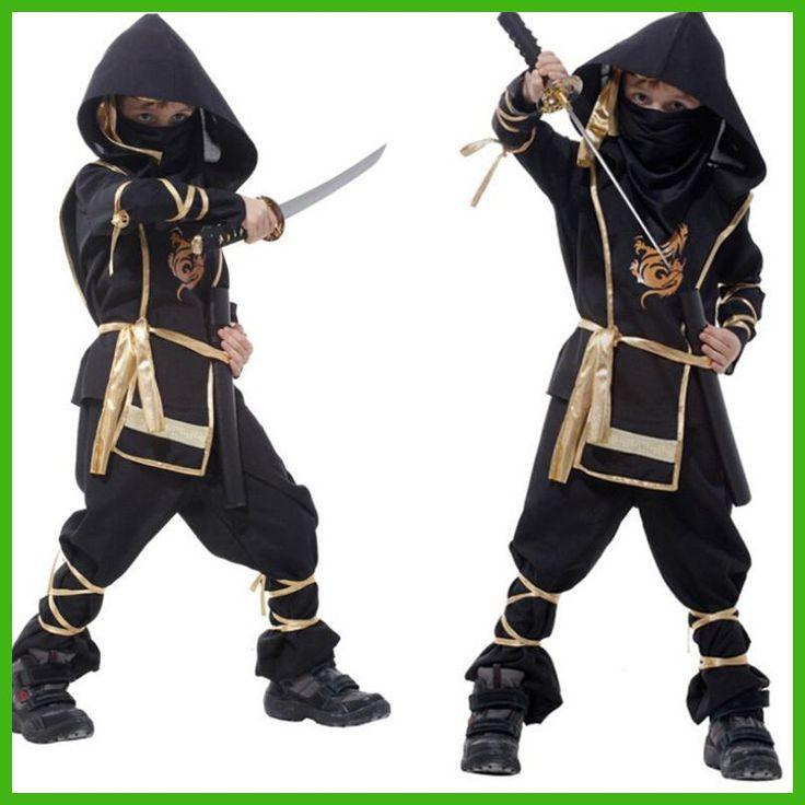 Kids Ninja Costumes Halloween Party Boys Girls Warrior Stealth Children Cosplay Assassin Costume Children's Day Gifts