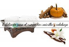 Una receta casera para hacer un #exfoliante para el cuerpo con vainilla y calabaza. Un tratamiento de spa para exfoliar tu piel en otoño. #remedio #tips #consejos #belleza http://susierodena.com/2015/09/exfoliante-para-cuerpo-vainilla-calabaza/