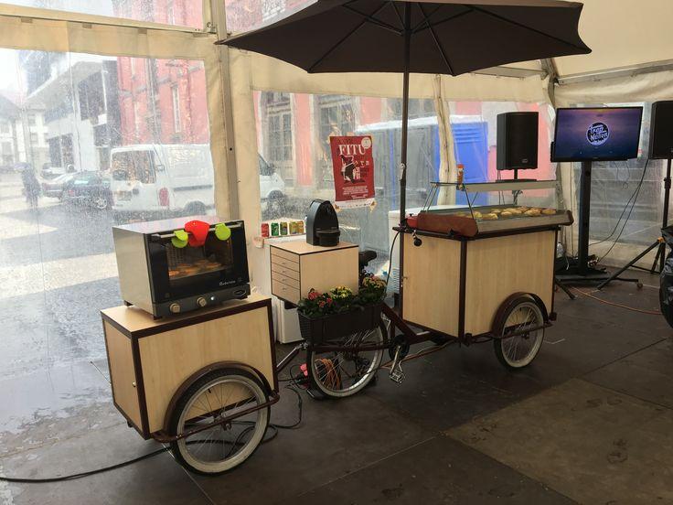 Street food bike pasteis de Chaves café - Não Sejas Pastel