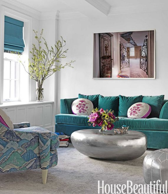 House Beautiful | Teal Color