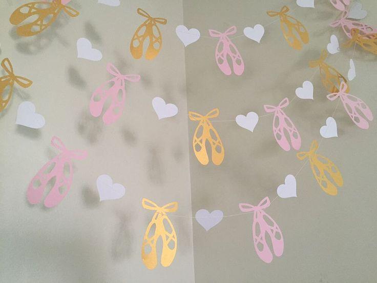 Ballet baby shower ideas