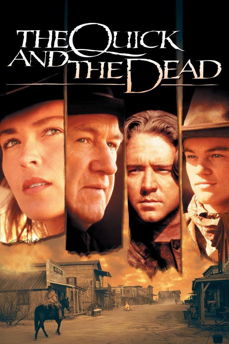 The Quick and the Dead - love this movie - (1995)  Seorang wanita koboi? Yap! Wanita koboi yg jarang kita temui di film2 koboi dia menjadi pahlawan & bahasa gue kurang bagus buat jd pereview film. Bangsat! Haha oke ini film keren karena leonardo masih keliatan unyu disini