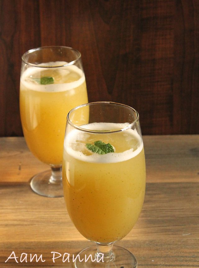 Aam Panna drink one of best remedies for sun stroke and reducing heat in the body.