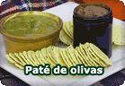 Olivada, paté vegetal de olivas :: receta vegetariana