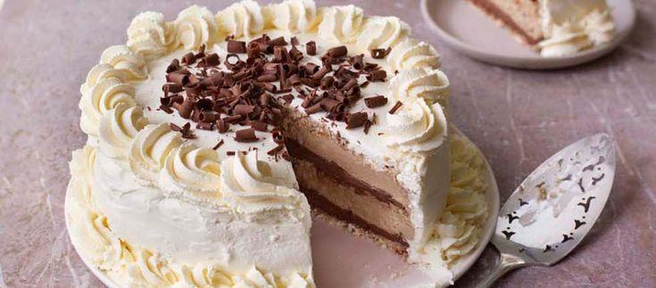 Sophie's Hazelnut Dacquoise Centrepiece | The Great British Bake Off