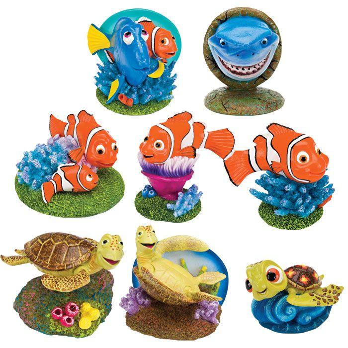 Decoration aquarium nemo for Nemo decorations