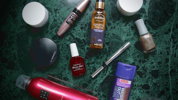 Mijn 10 ultieme favoriete beautyproducten
