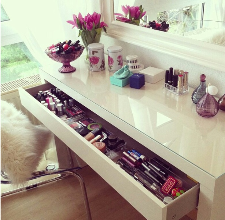14 best Make up Table images on Pinterest Bedrooms Dresser and Home