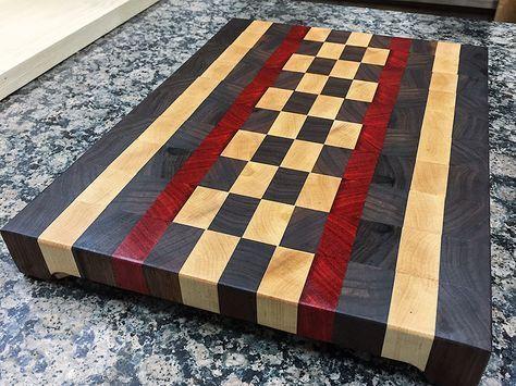 End-Grain Cutting Board