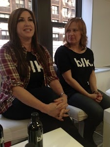 Jaqueline Manzo and Caroline Manzo talking about BLK Water. #DRBLKWater