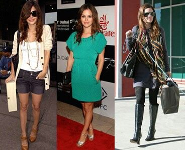 If I ever have a muse, Rachel Bilson would be one of them.