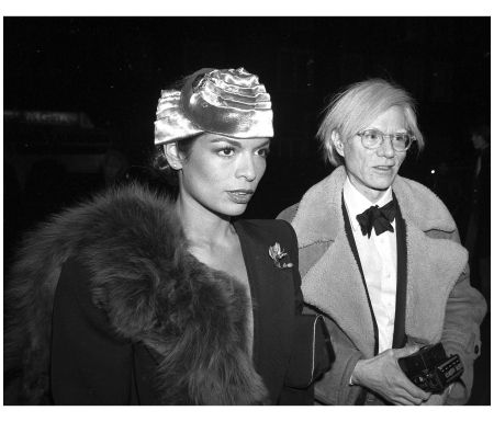 With Andy Warhol at Tavern on the Green for Council for a Beautiful Israel event 1976