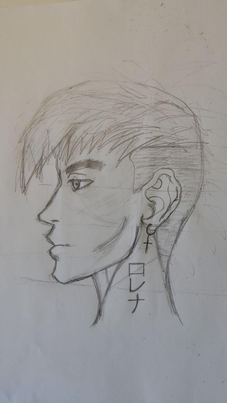 Anime self portrait en 2020