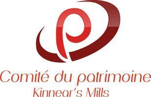 Logo du Comité du Patrimoine de Kinnear's Mills - Comités - MRC des Appalaches tourisme et attraits dans les villes Chaudière Appalaches, CLD région de Thetford Mines