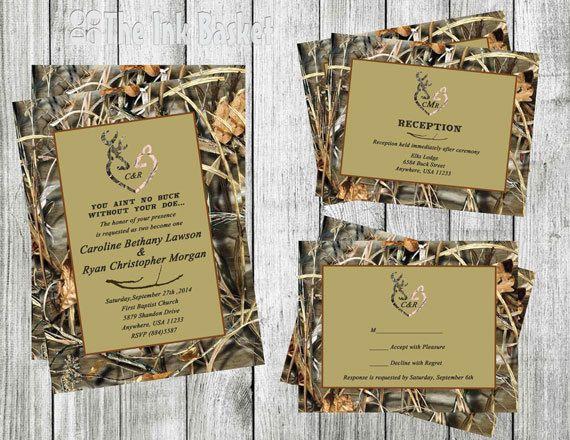 Camouflage Wedding Invitation Kits: 25+ Cute Redneck Wedding Invitations Ideas On Pinterest