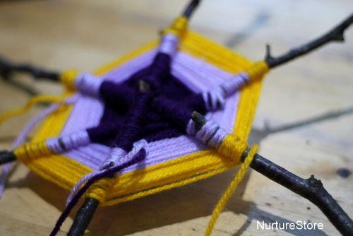 """Twig weaving from NurtureStore ("""",)"""