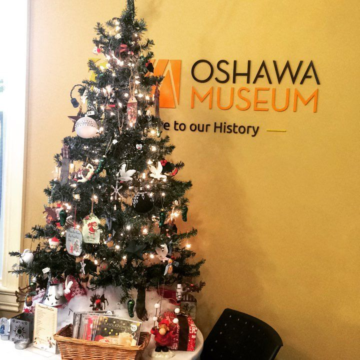 Christmas has arrived in the OM shop! Shop from our tree which is full of unique ornaments, including the ever popular Christmas Pickle! .  .  .  .  #oshawa #oshawamuseum #museumshop #christmas #holidays #ornaments #christmaspickle #shoplocal #ouroshawa