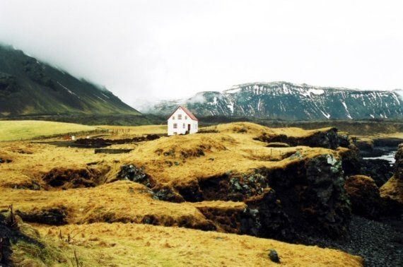 House Photography Film Iceland Home Decor by lynann on Etsy, $35.00