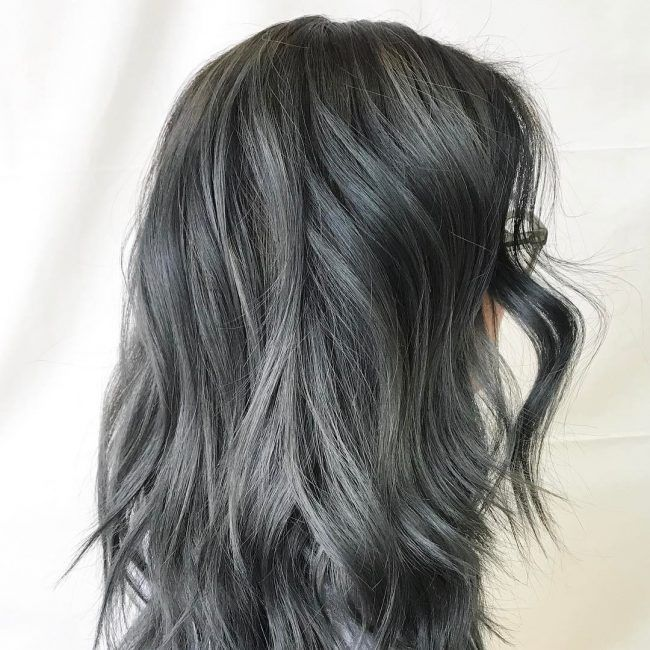best 25 dark grey hair ideas on pinterest grey hair or