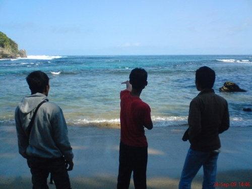 Pantai Pangi, Blitar selatan
