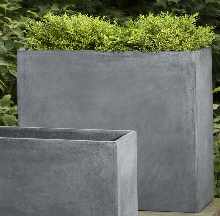 13 Contemporary Concrete Planters And Sculpture By Adam Christopher