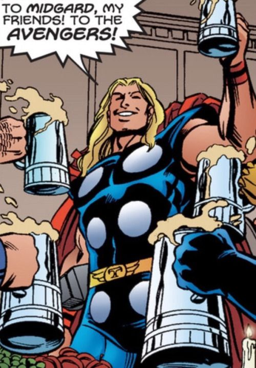 """To Midgard, my friends! To the Avengers!"" (Avengers #55)"