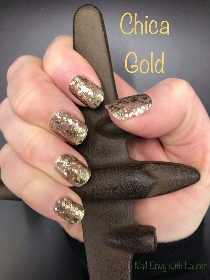 Color Street Spring 2019 Chica Gold Available 3 19 19 In 2019 Color Street Nail Polish Strips