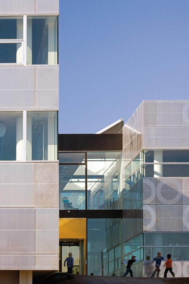 Absalon School, Holbæk, Denmark. Architect: Erik Møller Arkitekter AS