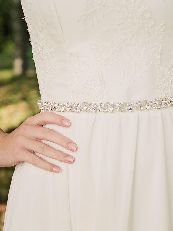 Hey, I found this really awesome Etsy listing at https://www.etsy.com/listing/124560009/crystal-bridal-sash-rhinestone-bridal