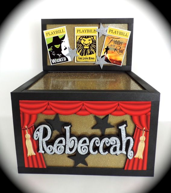 Themed Gift Box Ideas : Images about broadway theater themed parties on