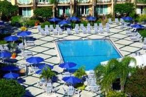 I want to be HERE right now. And that is the Safety Harbor spa's outdoor pool, year round temp of 70-74F.