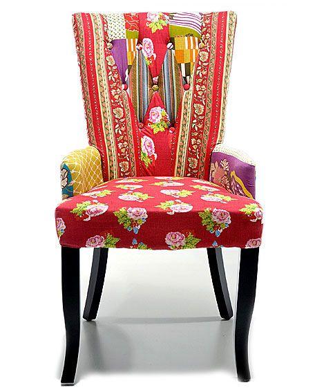 Muebles Portobellostreet.es:  Sillon Patchwork capitone - Butacas Vintage - Muebles Vintage