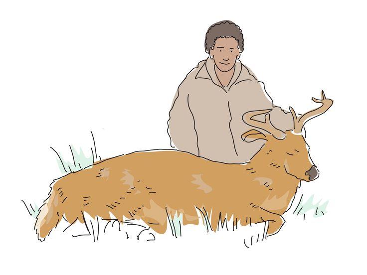 5fe7b106dca9c51755f837ed0b52d108 field dressing a deer how to tan